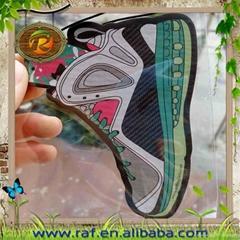 Sneakers Shoes Shape Paper Car Air Freshener AJ Jodan Nike Michael Kors Shoes