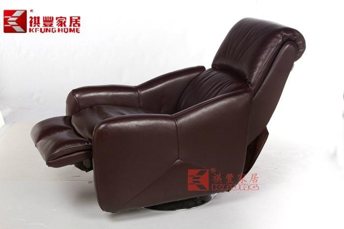 舒适头层真皮功能沙发M-1309 2