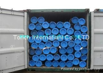 DIN 2440 2441&EN10255 S195T Welding / Threading Non - Alloy Steel Tubes 1