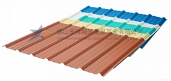 Xingfa PVC Roof Sheet with high Quality