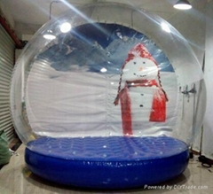 Fashionable Festival christmas inflatable snow globe