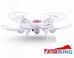 Firstsing 6 Axis Drone 2.4Ghz  360 degree flips RC Helicopter  toy