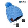 Firstsing Bluetooth Music Soft Knit Hat Wireless Smart Cap Headset Headphone
