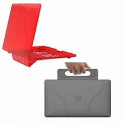 FirstSing Ultra Slim Carrying Case with Stand for Mac Book Air Pro