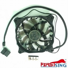120mm Hydraulic Bearing 18 LEDs Lights Fan Cooler Case PC Computer Cooling Tool