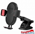 Firstsing 360 Degree Rotation Qi Car Air Vent Wireless Phone Charger Holder