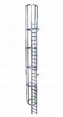 Aluminum Emergency Ladder 6.44m