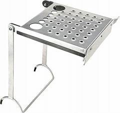 Step Grooved Shelf for Ladder 100KG Robust