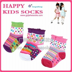 multi colors cotton baby socks