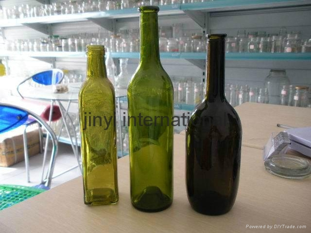 glass wine bottle 4