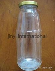 glass soft drink bottle