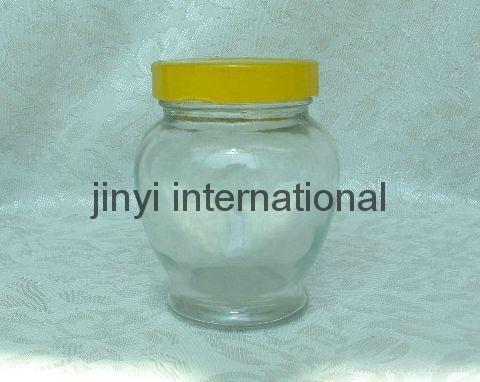 glass honey jar 1