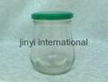 glass honey jar 2