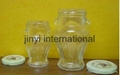 glass honey jar 3