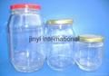 glass honey jar 5