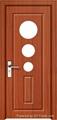 Cheap MDF Interior PVC laminated Doors