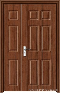 MDF Interior PVC Wooden Doors Design For Rooms 1 ...