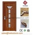 PVC Interior Wooden Doors for rooms