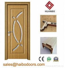 Cheap MDF Wooden PVC Doo