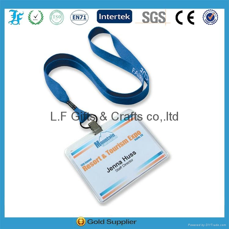 lanyard with badge holder id card holder 1