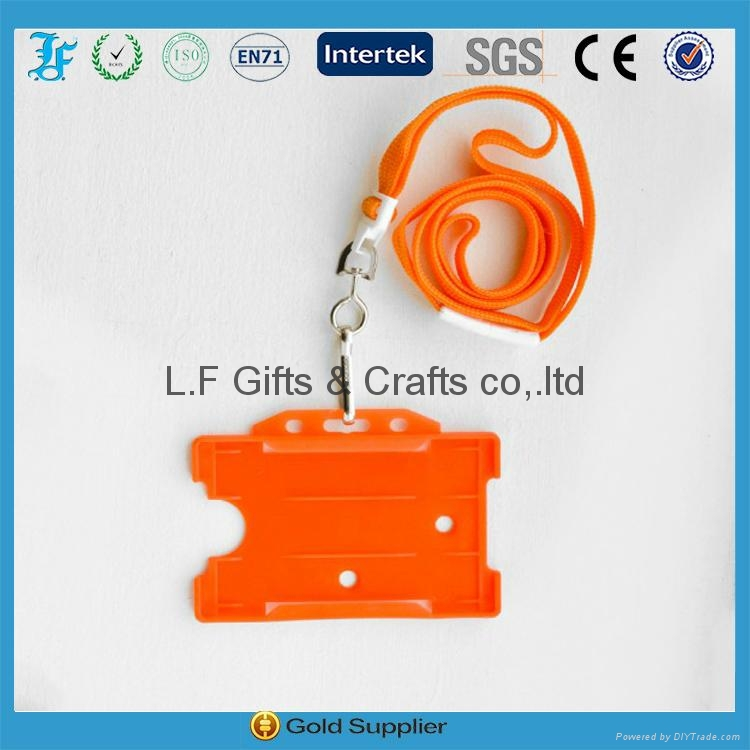 lanyard with badge holder id card holder 3