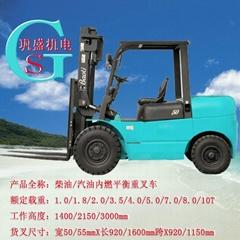 1.0-10T(杭州柴油叉车/杭州汽油叉车/LPG)