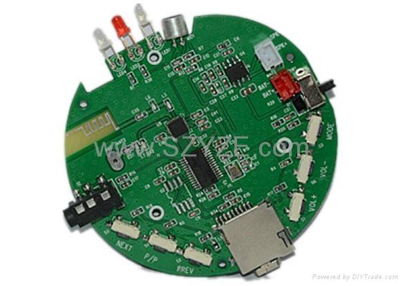 Bluetooth speaker digital MP3 module 1