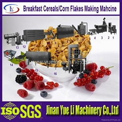Hot sell Corn flakes machine Breakfast cereal machine