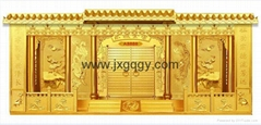 Zinc alloy columbarium