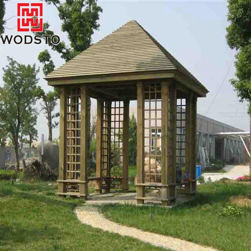 Antique Wooden Grain Parquet WPC Composite Flooring 1