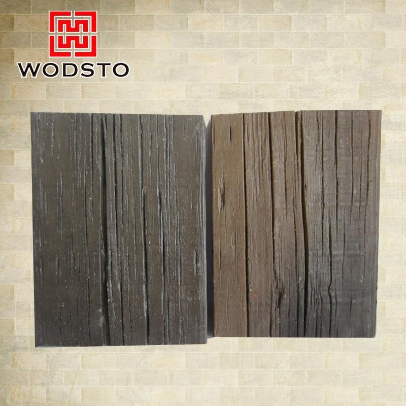 Antique Wooden Grain Parquet WPC Composite Flooring 5