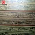 Brushed Wood Plastic Composite Waterproof Panels For Outdoor Garden 3