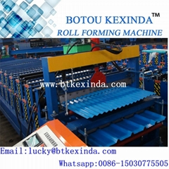 Double deck roof panel wall panel roll forming machine manufactuer