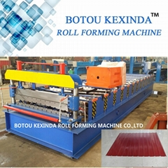 Russian roof tile manufacturing machine roof tile profile roll forming machine