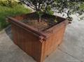 高耐碳化重竹木花箱 1