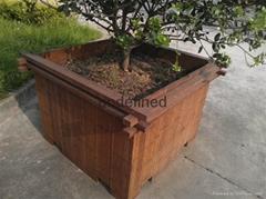 高耐碳化重竹木花箱