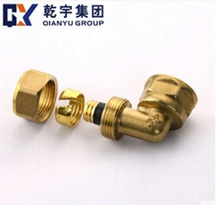 Brass Fittings Female Elbow For PEX-AL-PEX pipe