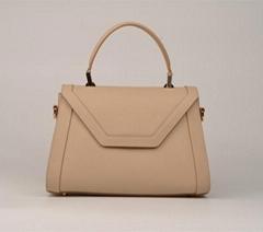 2015 fashionable genuine leather ladies handbags