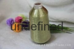 Pure gold ST type metallic lurex yarn for embroidery
