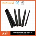 China astm a106 sch40 black seamless