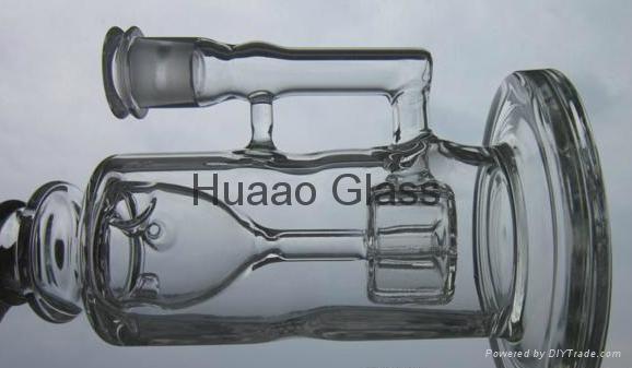 "torus 9.5""-2015 new high quality 9.5"" torus Recycle glass bongs joint size 14.4m"