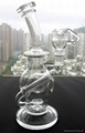 "ball-2015 new high quality 10"" ball rig glass bongs joint size 14.4mm"
