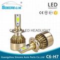 car led headlight bulbs C6-H7