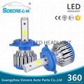 led car headlight kit 360-H4