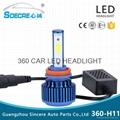 car led headlight 360-H11