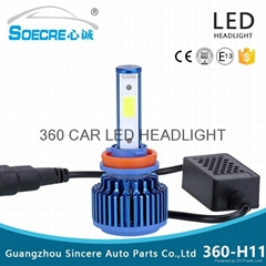 car led headlight 360-H11