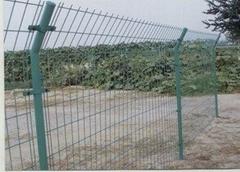 供應雙邊絲護欄網