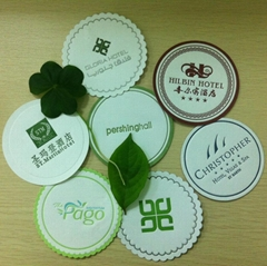 2015 super hot selling Round cup paper coaster