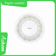 Most welcome customized hot sale paper coaster