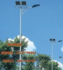 晉城8米太陽能路燈